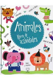 Animales libro de actividades