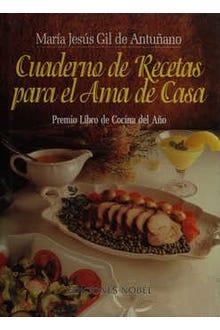 Cuaderno de recetas para el ama de casa