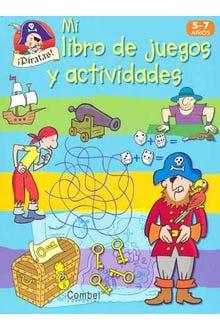 MI LIBRO DE JUEGOS Y ACTIVIDADES PIRATAS