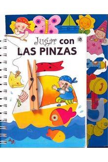 JUGAR CON  LAS PINZAS