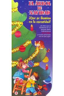 El árbol de navidad que se ilumina en la oscuridad