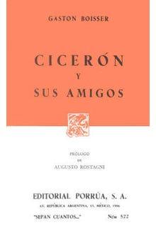 Cicerón y sus amigos