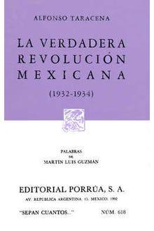 La verdadera revolución mexicana 1932-1934