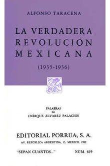 La verdadera revolución mexicana 1935-1936