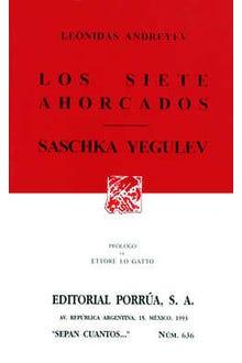 Los siete ahorcados · Sachka Yegulev