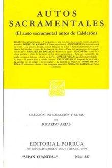 Autos sacramentales (El auto sacramental antes de Calderón)