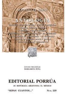 Antología · Cantigas de Santa María · Cantigas profanas