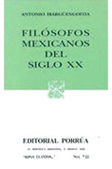 Filósofos mexicanos del siglo XX