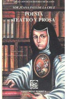 Poesía, teatro y prosa