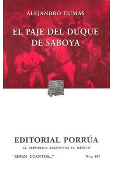 El paje del Duque de Saboya