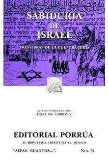 Sabiduría de Israel
