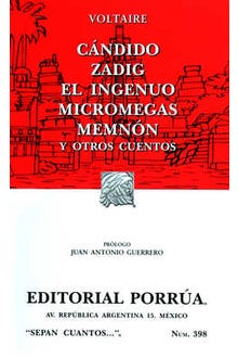 Cándido · Zadig · El ingenuo · Micromegas