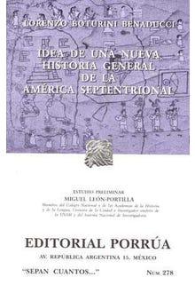 Idea de una nueva historia general de la América septentrional