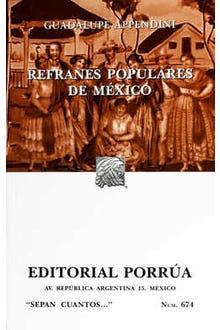 Refranes populares de México