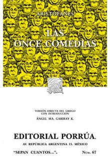 Las once comedias