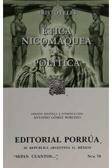 Ética nicomaquea · Política