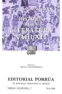 Historia de la literatura Náhuatl