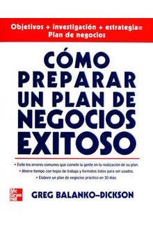Cómo preparar un plan de negocios éxitos