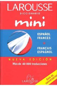 LAROUSSE DICCIONARIO MINI ESPAÑOL-FRANCES FRANCES-ESPAÑOL