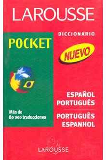 LAROUSSE DICCIONARIO POCKET ESPAÑOL-PORTUGUES PORTUGUES-ESP