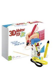 3D Maker Kit Jr (pluma amarilla)