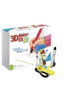 3D Maker Kit Jr (pluma blanco)