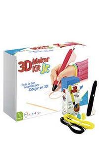 3D Maker Kit Jr (pluma negro)