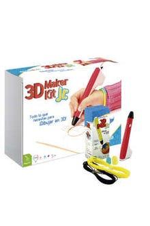 3D Maker Kit Jr (pluma roja)
