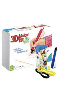3D Maker Kit Jr (pluma azul)