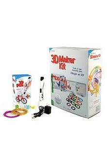 3D Maker Kit (Pluma Blanca)