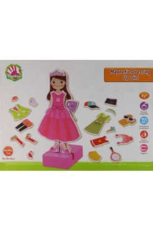 Magnetic Dressing up Girl
