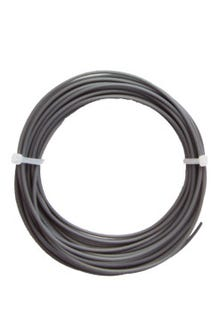 Filamento PLA 1.75mm gris individual c/10 m