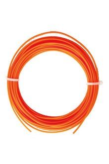 Filamento PLA 1.75mm naranja individual c/10 m