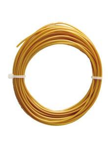 Filamento PLA 1.75mm dorado individual c/10 m