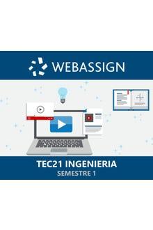 WebAssign Inglés, TEC21 Semestre 1 Ingeniería