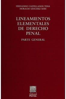 Lineamientos elementales de Derecho Penal parte general