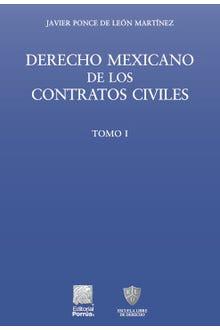Derecho mexicano de los contratos civiles Tomo I