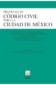 Proyecto de Código Civil para la Ciudad de México