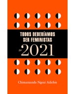 Libro agenda Todos deberíamos ser feministas en 2021