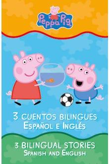 Peppa Pig Libro de cuentos bilingües