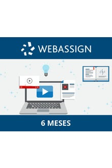 WebAssign Inglés, 6 meses