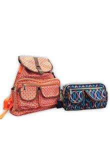 Bolsa con mochila 2 en 1