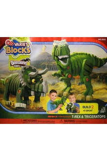200 blocks de fomy grueso para hacer dinosaurios