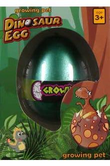 Huevo que crece en el agua y sale un  dinosaurio