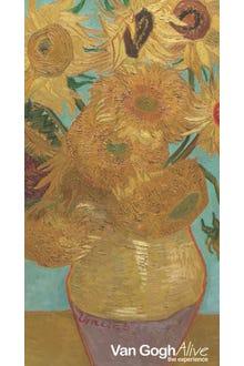 Libreta Los girasoles Van Gogh chica