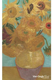 Libreta Los girasoles Van Gogh