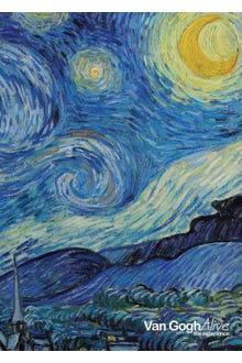 Libreta La noche estrellada Van Gogh