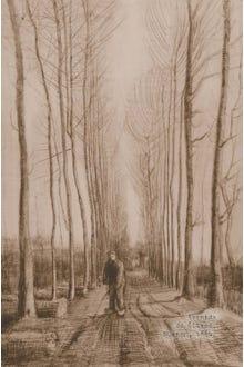 Libreta Avenida Álamos Van Gogh