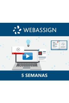 WebAssign Inglés, 5 semanas